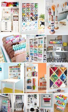 '13 Storage Hacks for the Crafty Girl...!' (via brit.co)