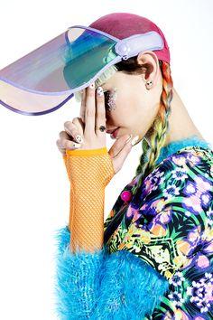 Reverse Kaleidoscope Dress #rave