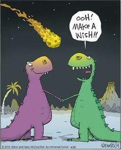 Dino make a wish