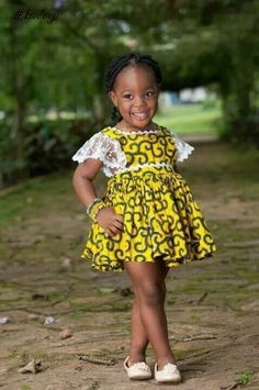 African fashion is available in a wide range of style and design. Whether it is men African fashion or women African fashion, you will notice. Baby African Clothes, African Dresses For Kids, African Children, Latest African Fashion Dresses, African Print Fashion, Baby Girl Dresses, Baby Dress, Ankara Styles For Kids, Obi