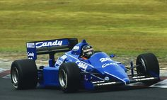 Jacques Laffite, Ligier-Renault JS25, 1985 German GP, Nürburgring
