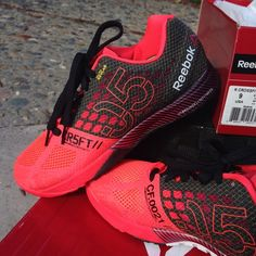 ⚡️NWB⚡️Reebok CrossFit Nano 5.0❤️ The 1st pic is most accurate of the color. It is like a neon salmon color. So cute! Bought them for my cousin and they were too big, so she only tried them on inside and never wore. I purchased them online and for some strange reason, there is absolutely no record of them and I never got a confirmation email so I can't exchange & they haven't been very helpfulI paid the full $129.99+tax, so hopefully I can sell them here quickly to get her a new pair for…
