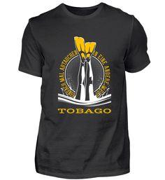 TAUCHSHIRT TAUCHEN TOBAGO T-Shirt Utila, Ushuaia, Vanuatu, Waimea Bay, Perth, Monterey Bay, Komodo, Sunshine Coast, La Jolla Shores