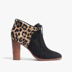 madewell et sézane front-tie boots