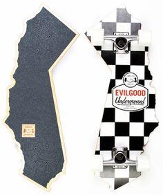Evil Good - Cali Skate Complete - Skateboard - Click to enlarge