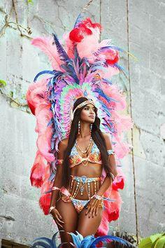 Trinidad fashion TRIBE 2015 #carnival