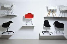 Eames Chair gallery, DAR, DAW, DAX, PACC, PSCC.