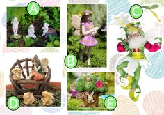 FAIRIES AND BUNNIES. www.teeliesfairygarden.com ... This Easter make your garden magical by adding more fairies and bunnies in a various shapes and forms. The fairies in your garden would love to have new friends so grab a few now! #easterfairygarden