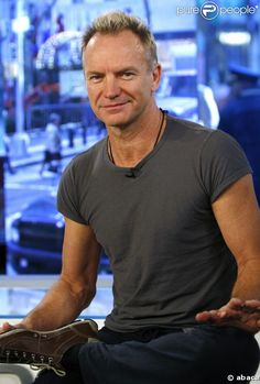 Sting ~ truly more handsome as he ages.