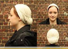 Medieval Silkwork: Women's caps