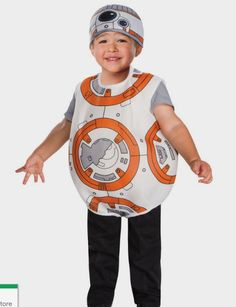 Star Wars Episode VII: The Force Awakens - Toddler BB - 8 Halloween Costume - Costume Supercenter http://fave.co/2coN9aA