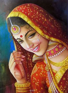hindu art | Indian Paintings | Top Design Magazine - Web Design and Digital ... so pretty