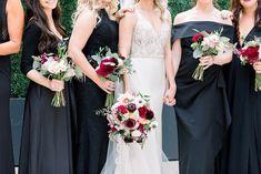 Heidi and Toms Classic Urban Wedding Burgundy Wedding, Floral Wedding, Wedding Bouquets, Wedding Flowers, Wedding Dresses, Sweetheart Table Backdrop, White Anemone, Beautiful Suit, Museum Wedding
