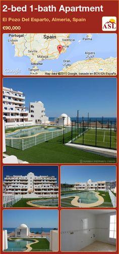 2-bed 1-bath Apartment in El Pozo Del Esparto, Almeria, Spain ►€90,000 #PropertyForSaleInSpain