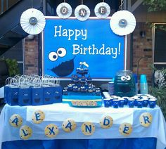 """Photo 1 of 12: Cookie Monster / Birthday """"""""P"""" is for Party """" 
