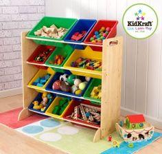 Kidkraft Primary Storage Bin Unit