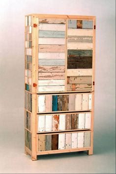 Piet Hein Eek: 2 doors, 3 drawers