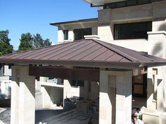 Copper roofing Brisbane.