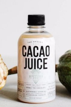 Cacao Juice is basically a healthy way to get your chocolate fix.