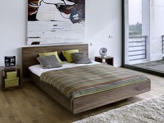 Awesome 58 Cool Contemporary Floating Bed Design Ideas.  #FloatingBedDesign