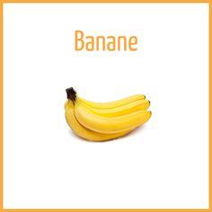 Banane - Arômes naturels - Fiole de 10ml - PG/80 VG/20