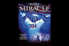 Miracle - inspirational, feel good movie and i love that they hired hockey players and made them actors instead of the other way around.  Do you believe in miracles?!?