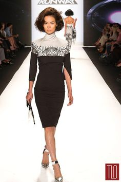 Project Runway Season 12 - Dom Finale Show at NY Fashion Week - the Tide washable look