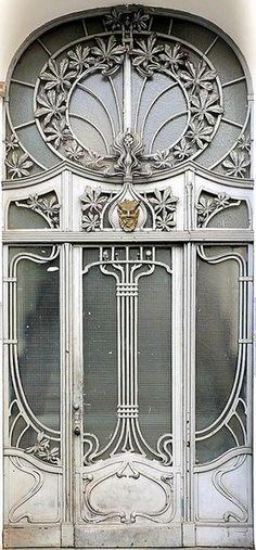 exquisite Art Deco door