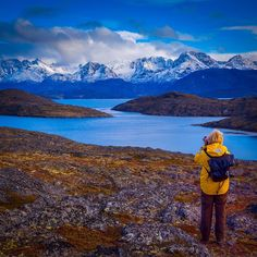 Photographing Snow Capped Mountains in Greenland | The Planet D: Adventure Travel Blog