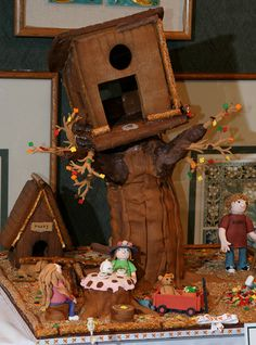 Gingerbread Treehouse by adroach, via Flickr