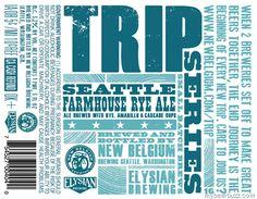 New Belgium / Elysian Brewing - Trip Series Seattle Farmhouse Rye Ale
