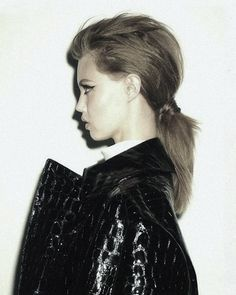 Lindsey Wixson photographed by Ezra Petronio for Self Service #39 Fall/Winter 2013.