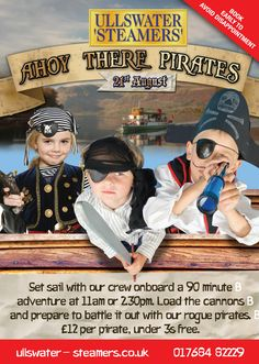 Them be Pirates - 21st August 2015