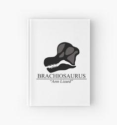 Brachiosaurus Skull Hardcover Journal #dinosaurs #jurassic #brachiosaurus #skulls #animals