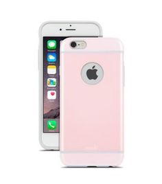 Buy Moshi iGlaze for iPhone 6 - Pink - Slim and protective iPhone 6 case - Moshi iGlaze for iPhone 6 - Pink is available with free day shipping Iphone 6 Pink, Iphone Se, Apple Iphone, Pink Carnations, 6s Plus Case, Tablets, Phone Accessories, Ipod, Smartphone