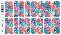 Jamberry Nail Wraps punchy puff