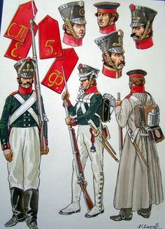 Russian Infantry of the line, 1810-1812