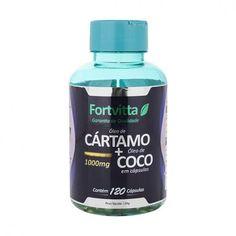 Compre na Natue o Cártamo+Coco da Fortvitta, produto que fornece os benefícios dos óleos de cártamo e coco, auxiliando o sistema imunológico e a queima de gordura