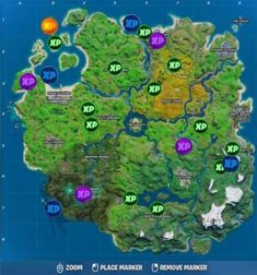 Where to Find All XP Coins in Fortnite Week 7 Epic Games, Make It Simple, City Photo, Coins, Seasons, Coining, Rooms, Seasons Of The Year