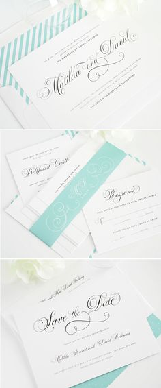 angelic script wedding invitations #wedding #invitations #stationery #script http://www.shineweddinginvitations.com/wedding-invitations/angelic-script-wedding-invitations