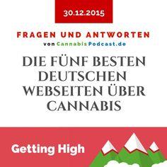 Die fünf besten deutschen Webseiten über Cannabis! Eine kleine Auswahl von Webseiten die wir regelmäßig besuchen. Signs, Weed, Weed Strains, Website, Deutsch, Shop Signs, Sign, Dishes