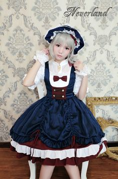 Neverland Lolita -Snow White- Lolita Jumper Dress