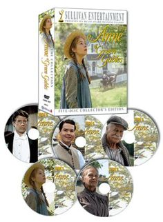 Anne of Green Gables series I LOVE, LOVE, LOVE this!