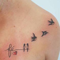 Tatuagem no ombro: 230 imagens que vão te inspirar a fazer a sua