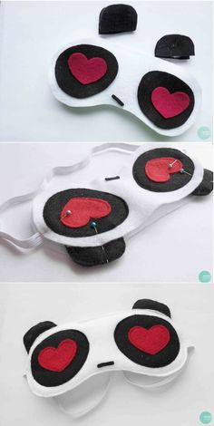 Or a panda sleep mask with heart eyes. Or an owl one..