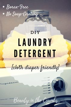 , Easy Homemade Laundry Detergent - Beauty in the Crumbs % Easy Homemade Laundry D. , Easy Homemade Laundry Detergent - Beauty in the Crumbs % Easy Homemade Laundry Detergent Looking for an EASY homemade laundry detergent that is cost-e.