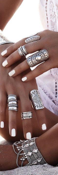 Bohemian jewels style