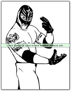 WWE Coloring Pages Coloringbookfun Wrestling20WWE