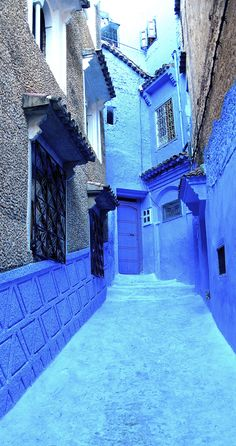 Chefchaouen or Chaouen is a city in northwest Morocco. It is the chief town of the province of the same name, and is noted for its buildings in shades of blue. MOROCCO
