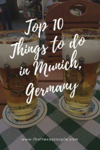 If you're planning a trip to Munich, then you have to see this post. Our list will take you to Nymphenburg Palace, German beer gardens, the Marienplatz and have you eating great German food. #Munich #Germany #ThingstodoinMunich